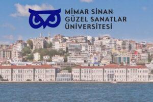Mimar Sinan Üniversitesi 2021 Yetenek Sınavı Takvimi